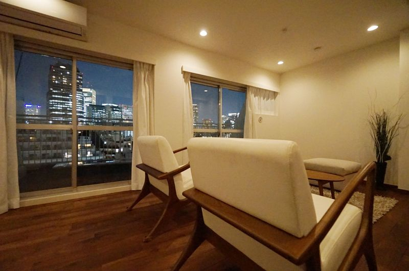 陽当たり・眺望良好なログマンション(シャトー赤坂台)